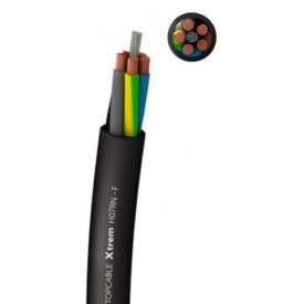 Electrical power supply cable / flexible / oil-resistant